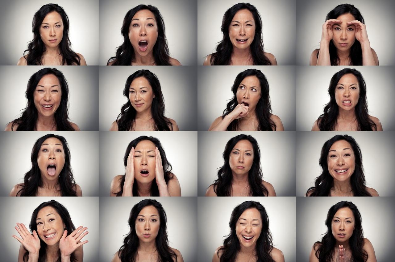 Разные эмоции человека картинки